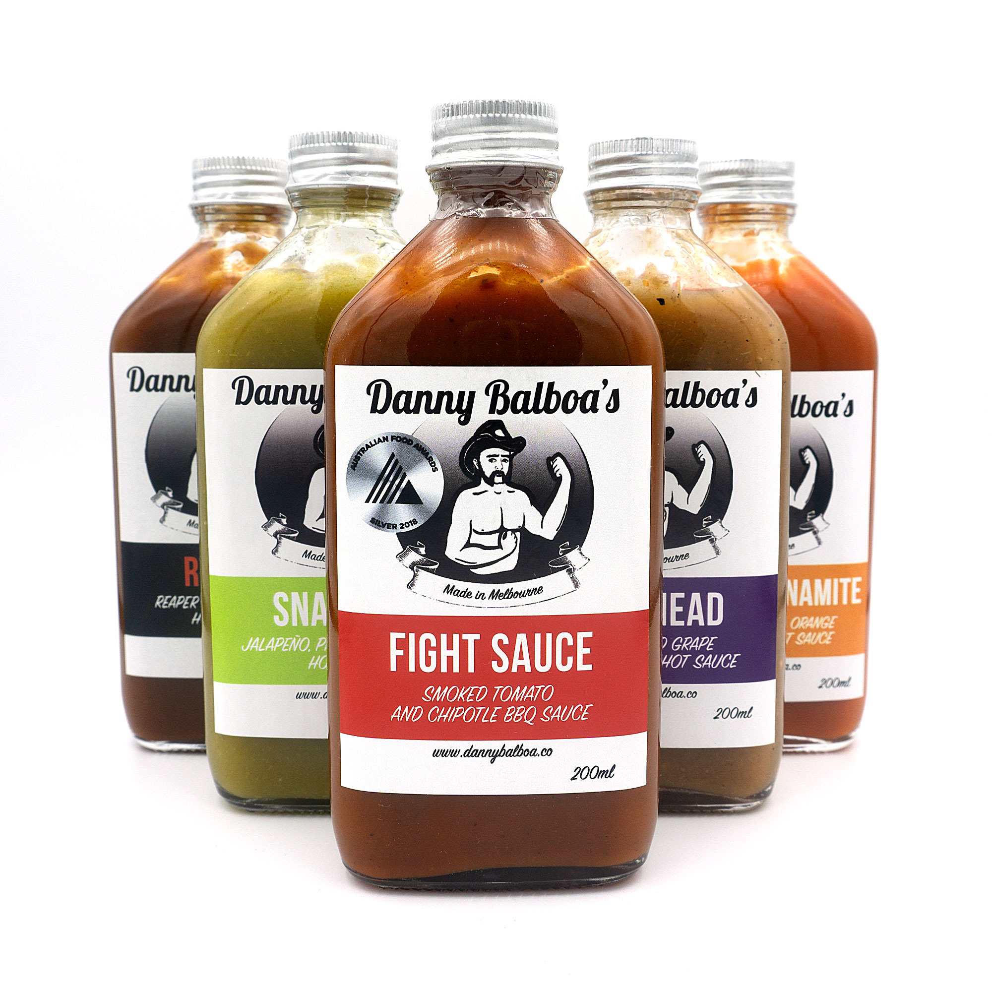 Danny Balboa's Sauce Co All Products
