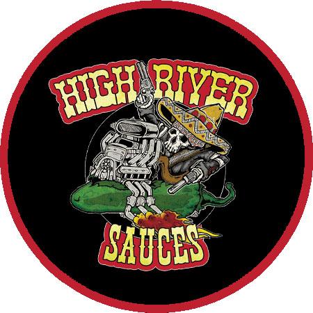 High River Sauces Logo | Mat's Hot Shop