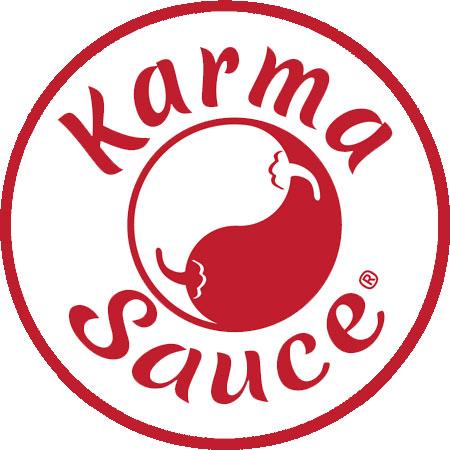 Karma Sauce Logo | Mat's Hot Shop