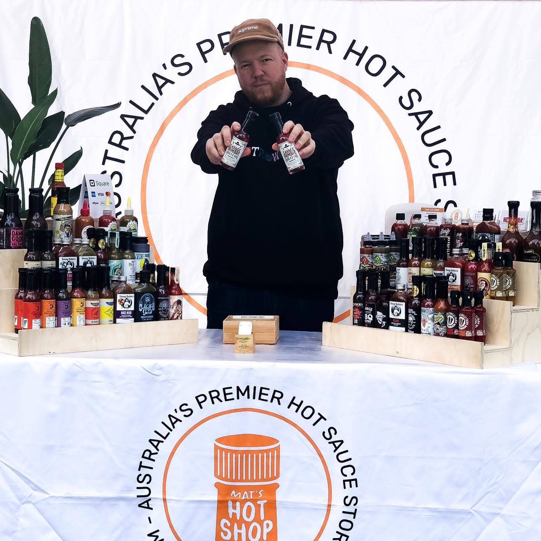 Mat's Hot Shop Market Savage Hombre Chilli Oil