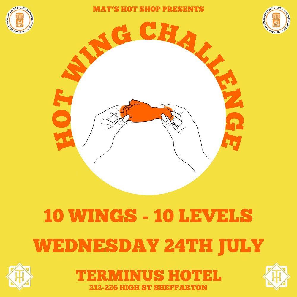 Mat's Hot Shop Hot Wing Challenge