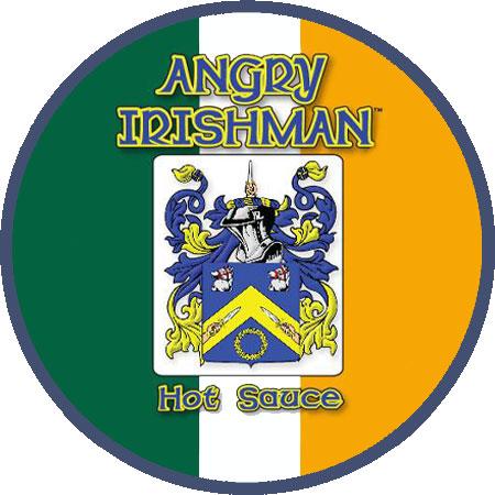 Angry Irishman Round Logo
