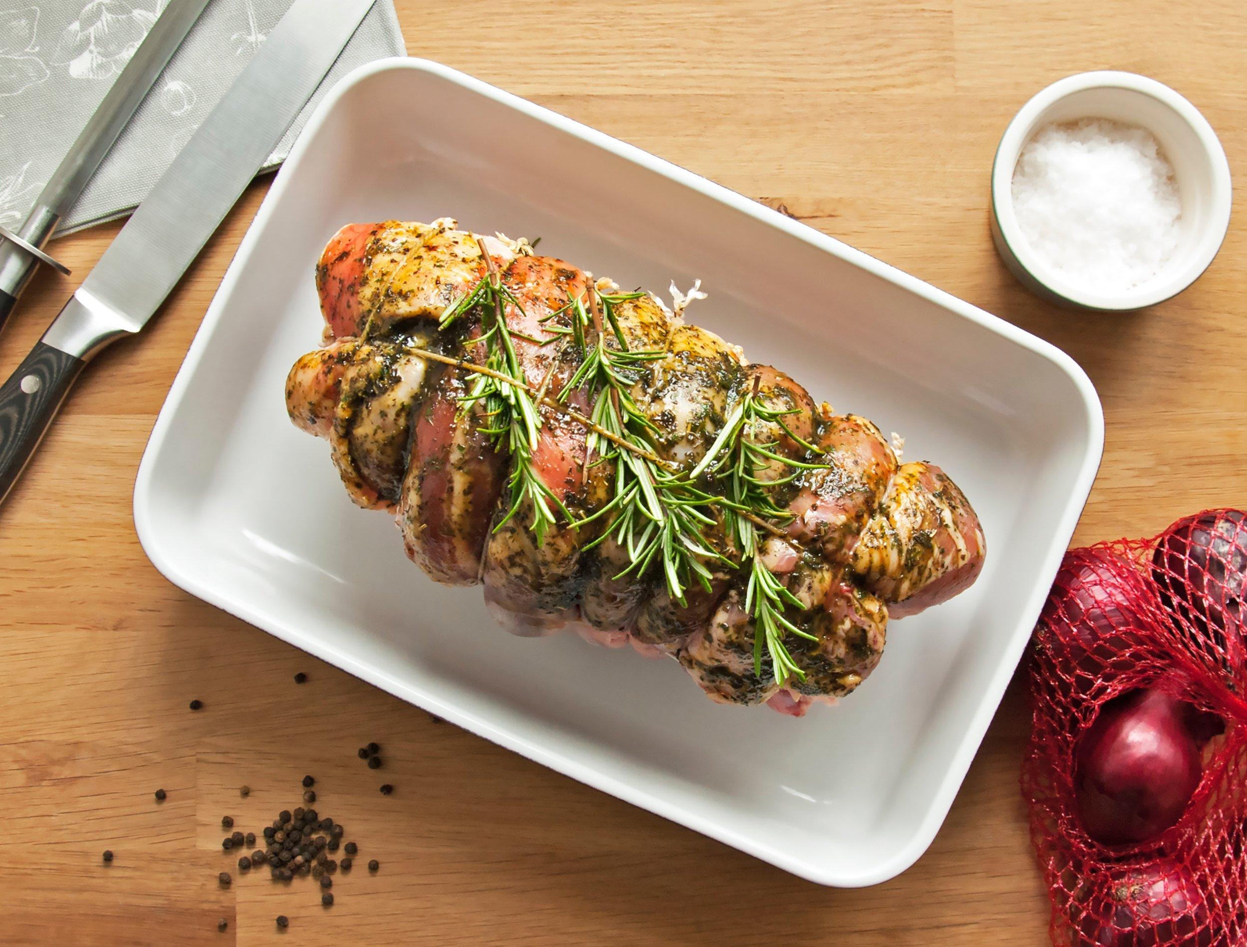 Roast lamb pairs with….?