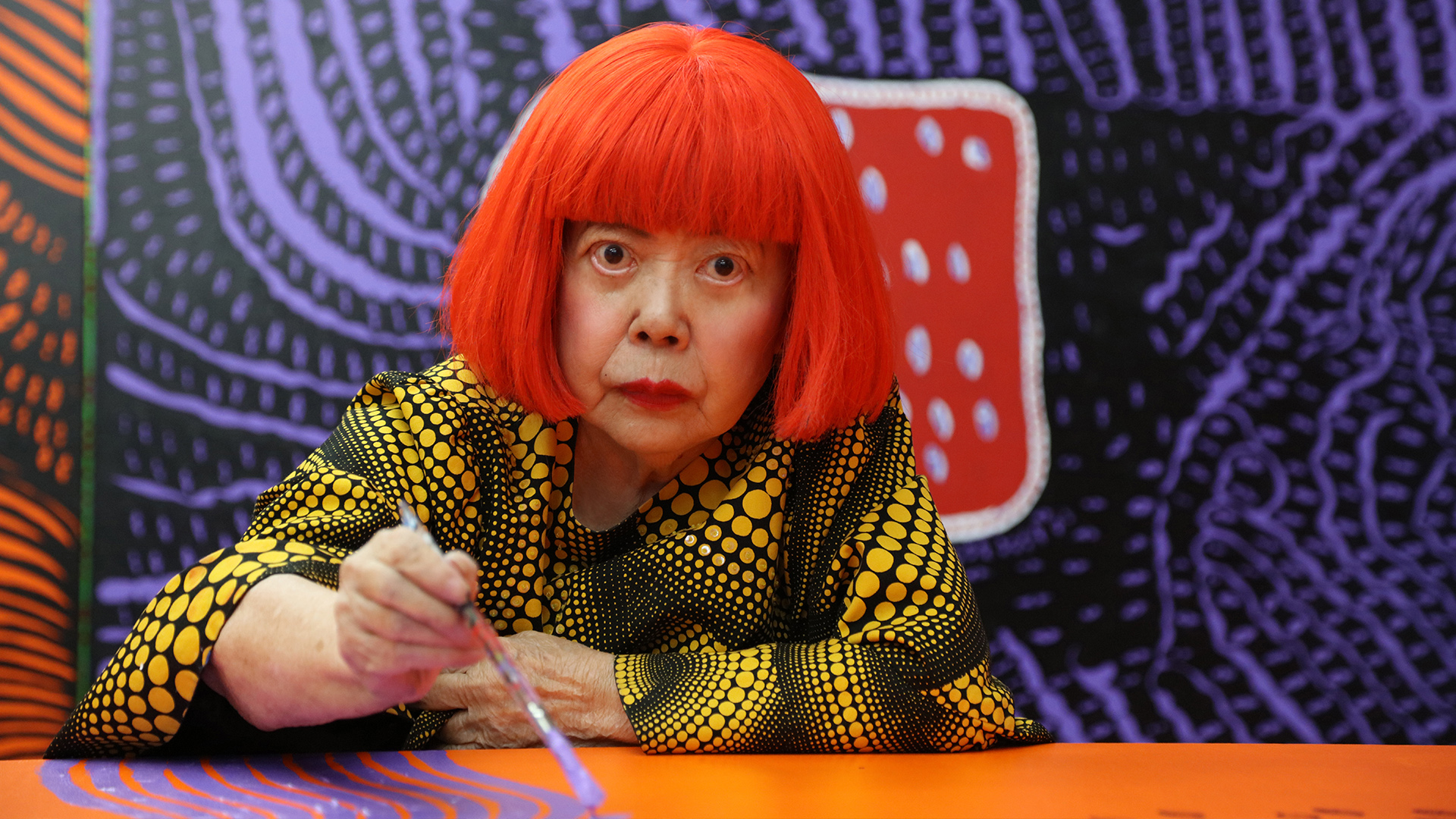 YAYOI KUSAMA @ VICTORIA MIRO   She's small but mighty. She has a fierce bright orange bob cut. She's the queen of polka dots. And she's back. *enter Yayoi Kusama stage left*.  Victoria Miro  have hosted Kusama 11 times previously and each time it's a hugely popular queue fest, so don't dilly dally about. Open till December at their North London gallery the exhibition spreads across it's two main spaces, plus its waterside garden and features all that Kusama is globally recognised for- dots, pumpkins, patterns, infinity mirrors, flower sculptures and more. Both her and her work are instantly recognisable and she shows no sign of slowing down which is all the more impressive when you realise she is nearing 90 years old. NINETY! A bit like Coal Drops Yard, this is yet another Instagram heaven. See you there.  Facebook  |  Instagram  |  Twitter  Image credit: Yayoi Kusama