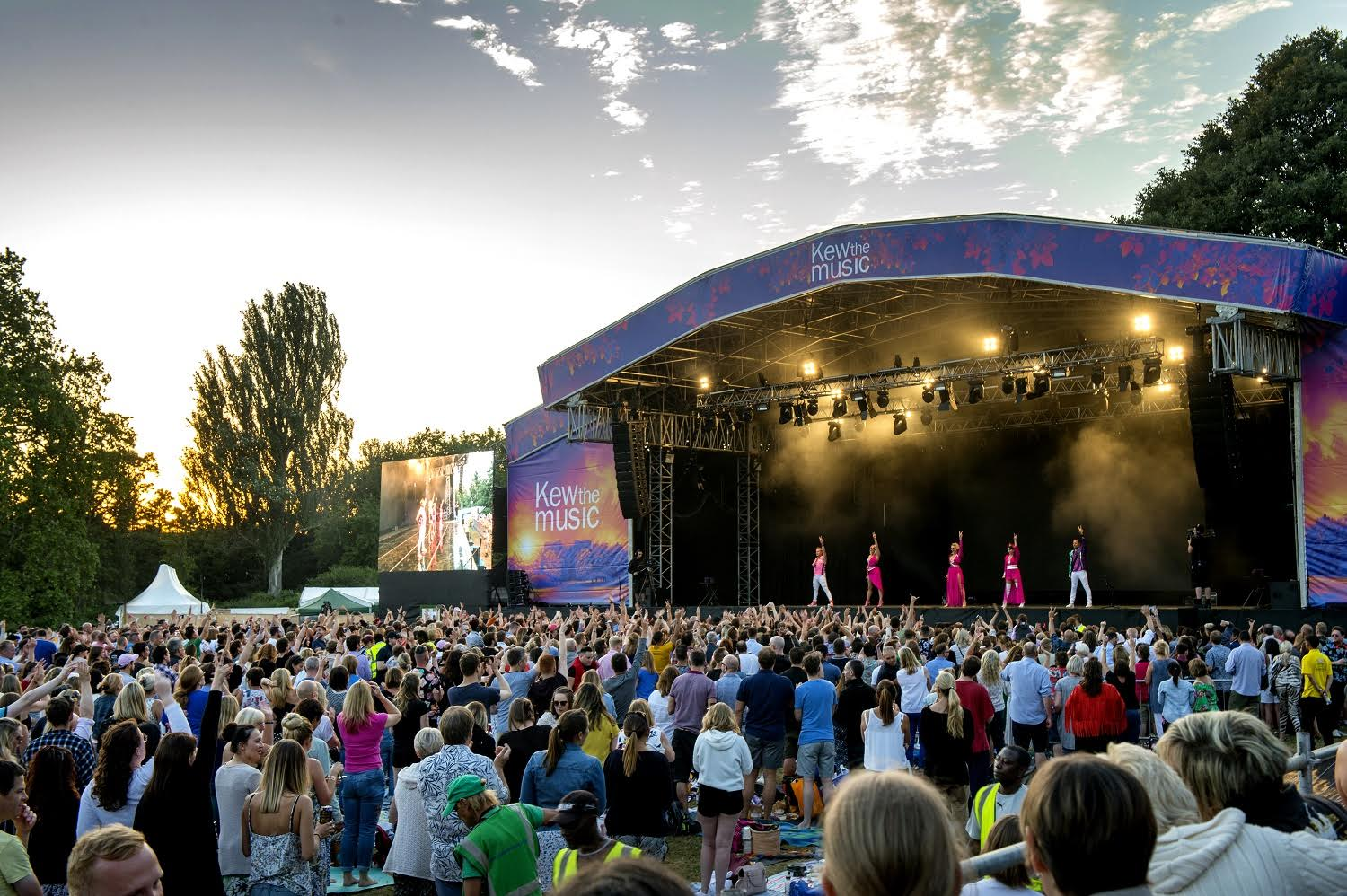 "Jess Glynne, Jools Holland, Craig David, Beverley Knight, Billy Ocean, Garbage, Rick Astley plus even MORE artists are all appearing at  Kew the Music  this month at, yep you guessed it, Kew. These ""picnic concerts"" are on from the 9th to the 14th July and tickets are available from £30 but vary depending on ticket type. Attendees are encouraged to take a seat on the grass (or on a chair if you bring one) and sing away your evening soaking up the music and the atmosphere while tucking into a yummy picnic hamper which are available to buy via the website and are put together in association with St John's Wood based delicatessen Panzer' too. If you don't fancy that then all guests are encouraged to pack your own pork pies and prosecco and curl up on a blanket as the evening draws in sound tracked by one of these fab artists. Glasto is a little too much for some people and this is the perfect London summer evening activity for live music but your own comfy bed guaranteed at the end of it all!   Facebook  