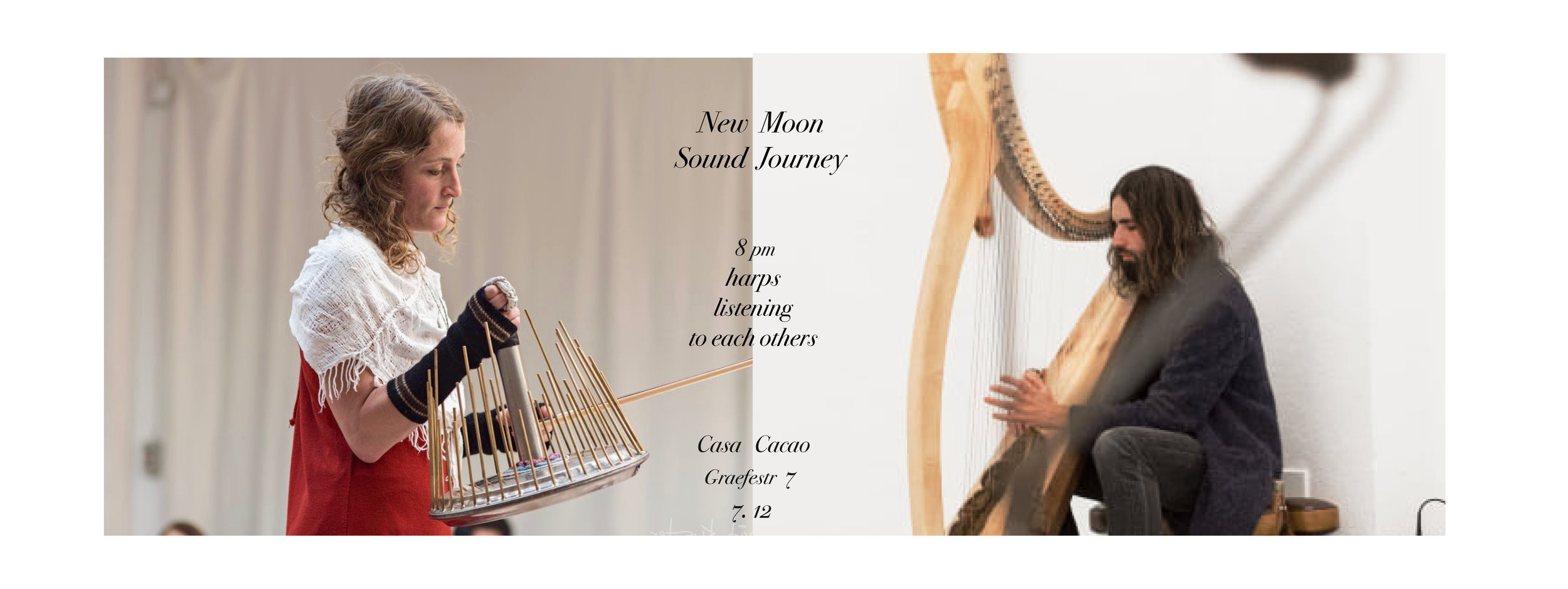 New Moon Sound Journey. Opening of season
