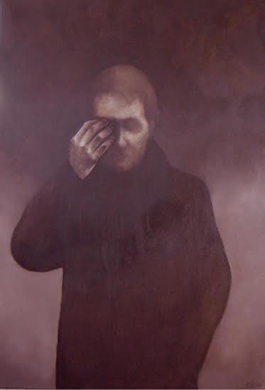 Moment Perdue , olieverf op doek, 90x120, 2003
