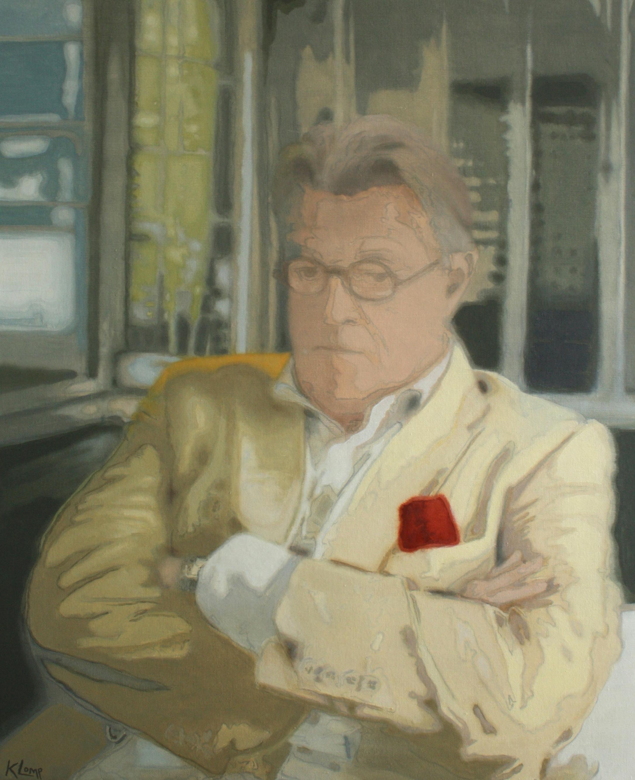 Jeroen Krabbé  voor 'Sterren op het doek' ,  80x100, Olieverf op doek, 2012