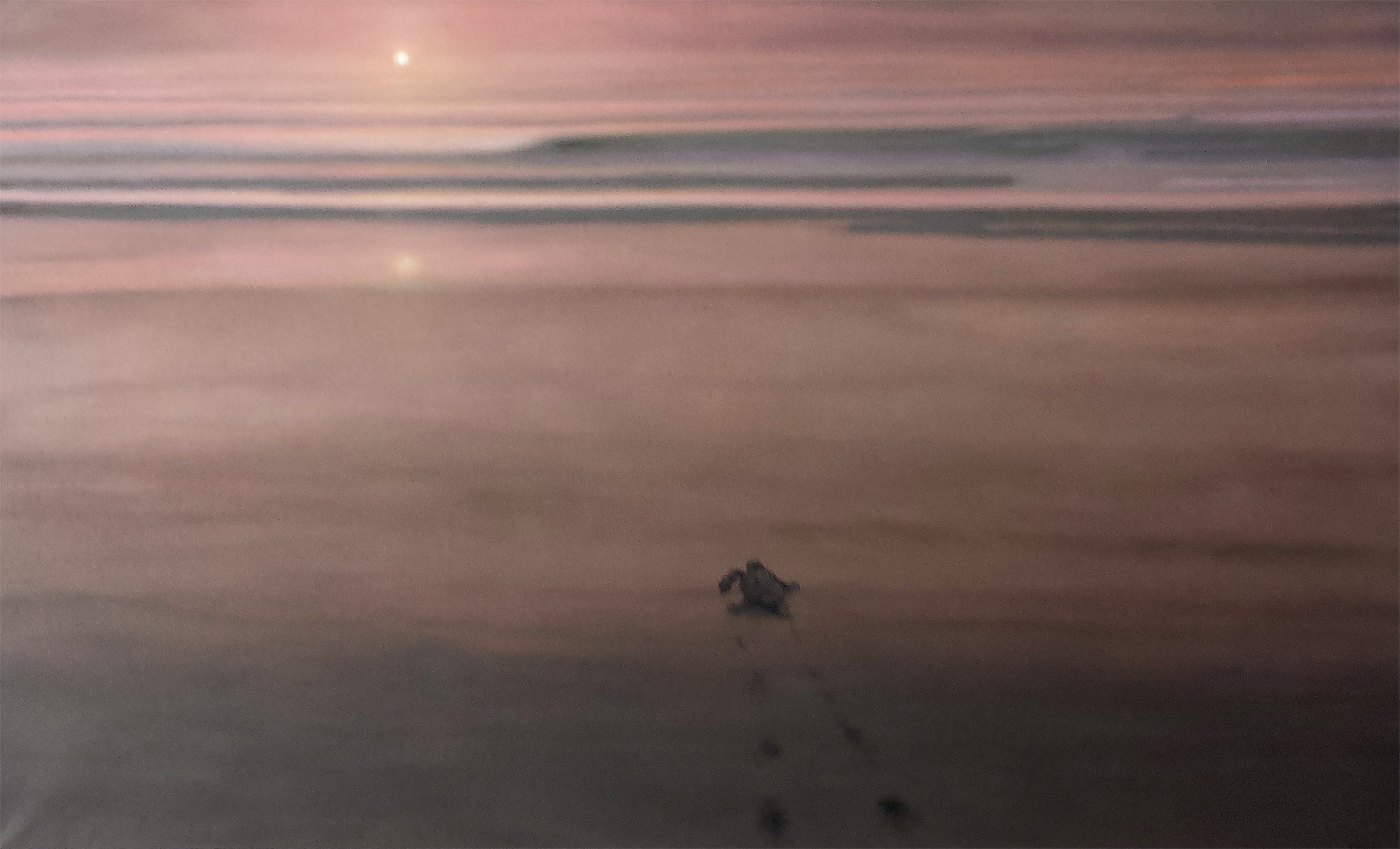 Sunrise 3 2019 100x160 Marko Klomp