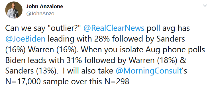 Anzalone Tweet on Polls.PNG
