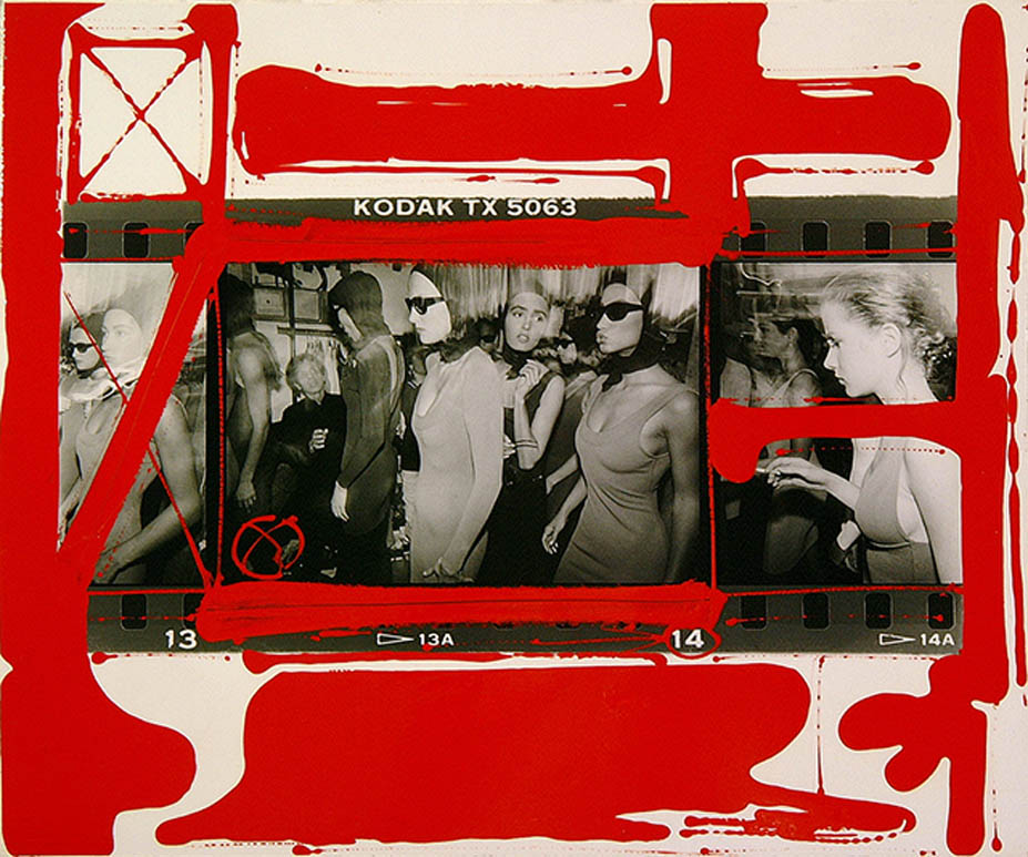 WILLIAM KLEIN  PAINTED CONTACT SHEETS