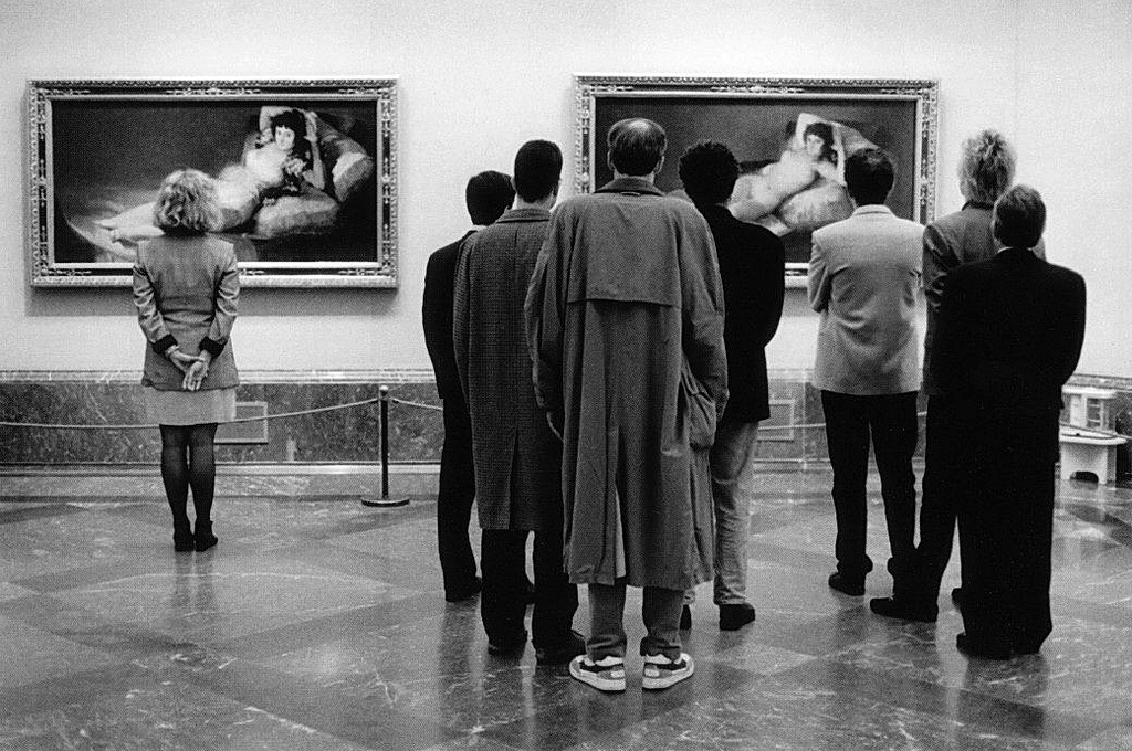 Elliott Erwitt, Museo del Prado, 1995.