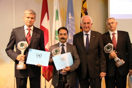 Awarded for his work on the humanitarian and environmental impacts of wildfires.