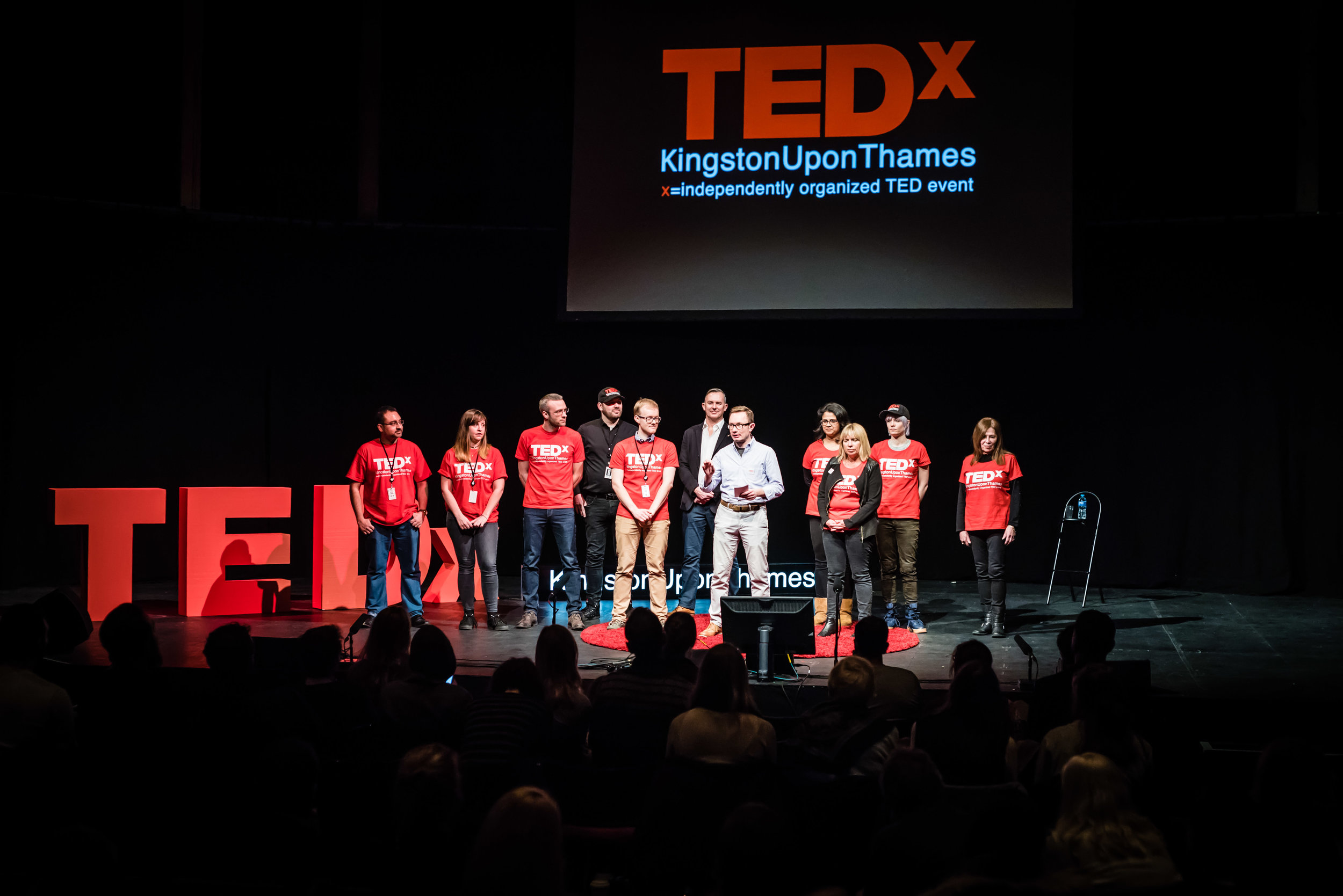 Get Involved - All TEDx events are organised by volunteers.