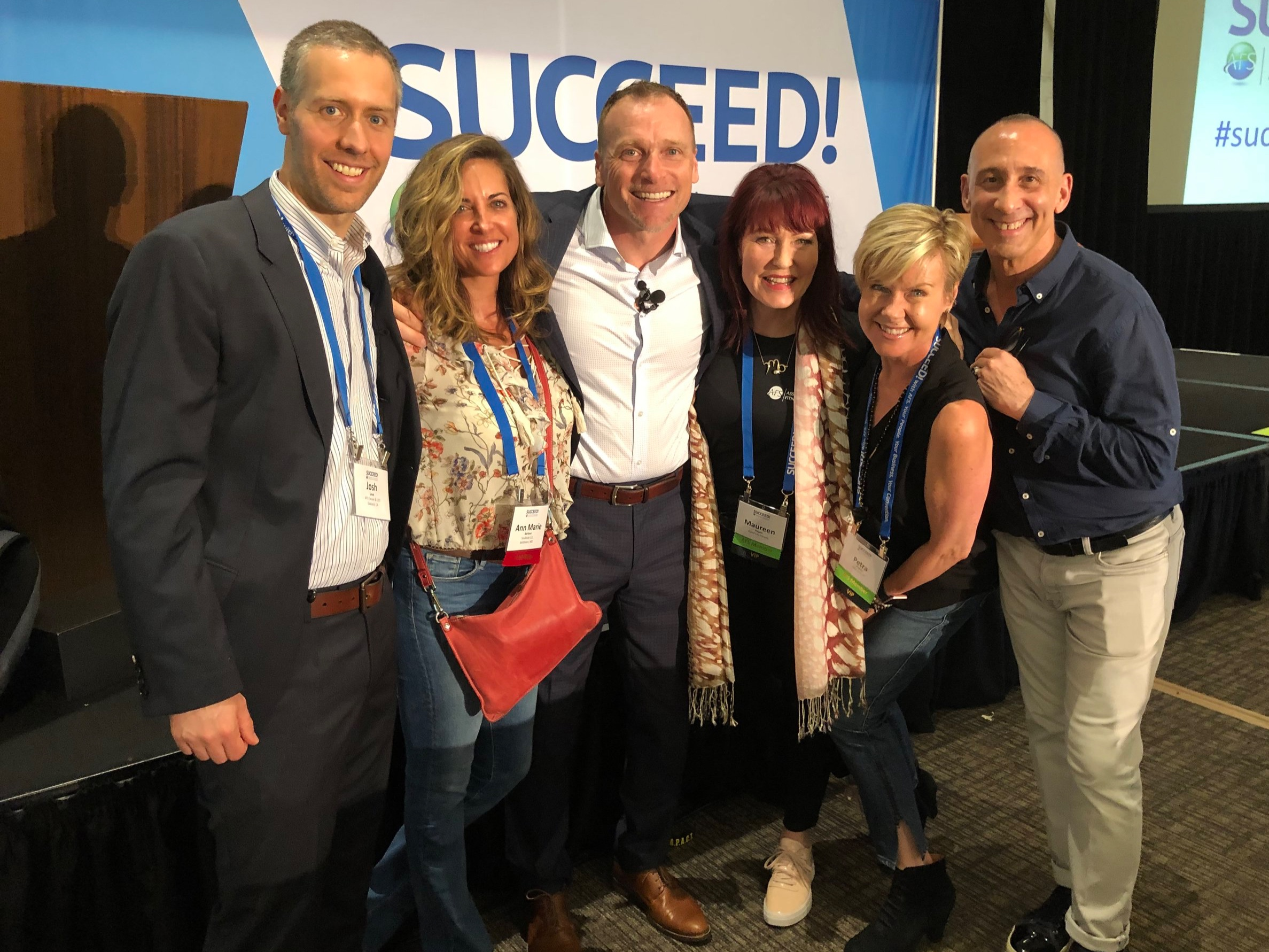 Big Names in Fitness - Hanging with some major movers and international influencers in the Fitness Space! Josh Leve, Founder & CEO of Association of Fitness Studios, Todd Durkin, conditioning coach and motivational speaker, Maureen Hagan, health wellness and anti-aging expert, Petra Kolber, speaker and educator and Fred Hoffman, fitness expert and consultant