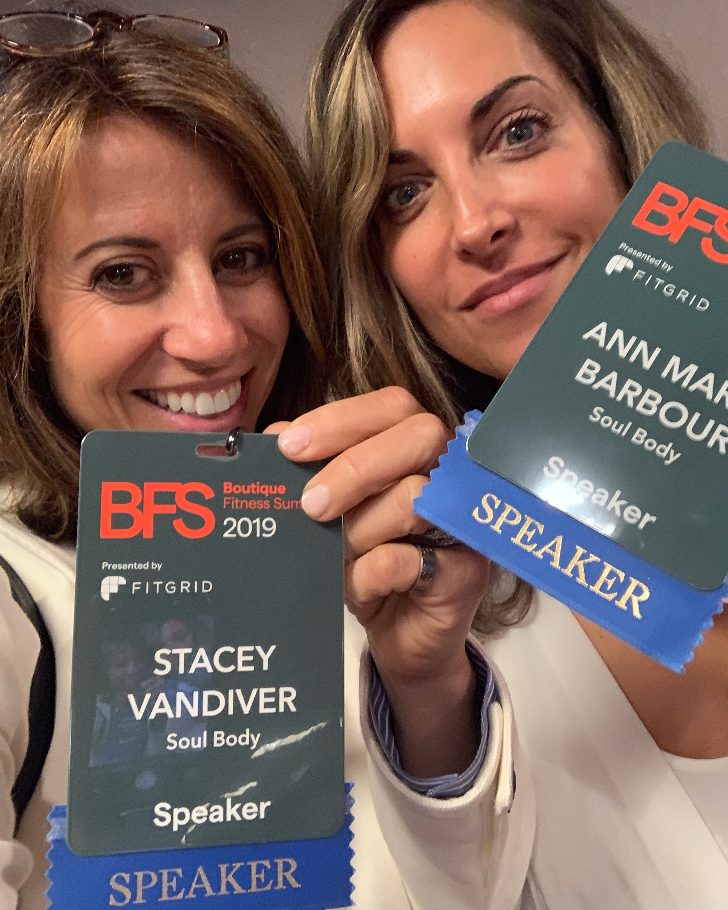 Pitch Perfect - Co-Founders Stacey Vandiver & Ann Marie Barbour pitching to Investors at BFS Ventures!