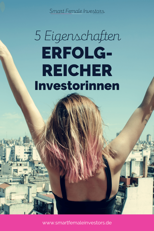 Gute Investorinnen sind nicht diejenigen, die - vielleicht durch Zufall - die besten Investments finden. Vielmehr sind es ein paar Eigenschaften, die Dich zu einer solchen machen. Denn an der Börse geht es nicht nur um Fakten, sondern in vielen Fällen um (emotionale) Fähigkeiten und Eigenschaften. #finanzen #geld #investieren #sparen