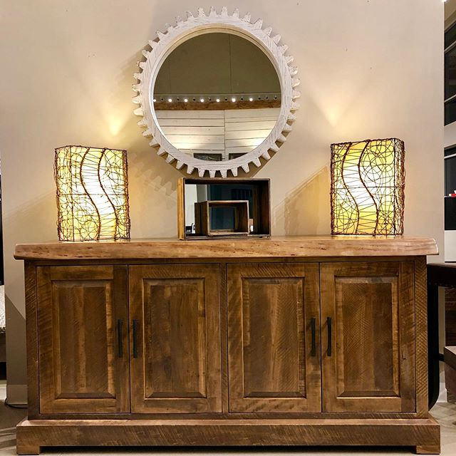 Our new Cross Creek Sideboard!!! Staff are loving it!!