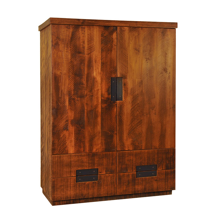 Arthur Philippe Armoire - 4 Door, 2 Drawer