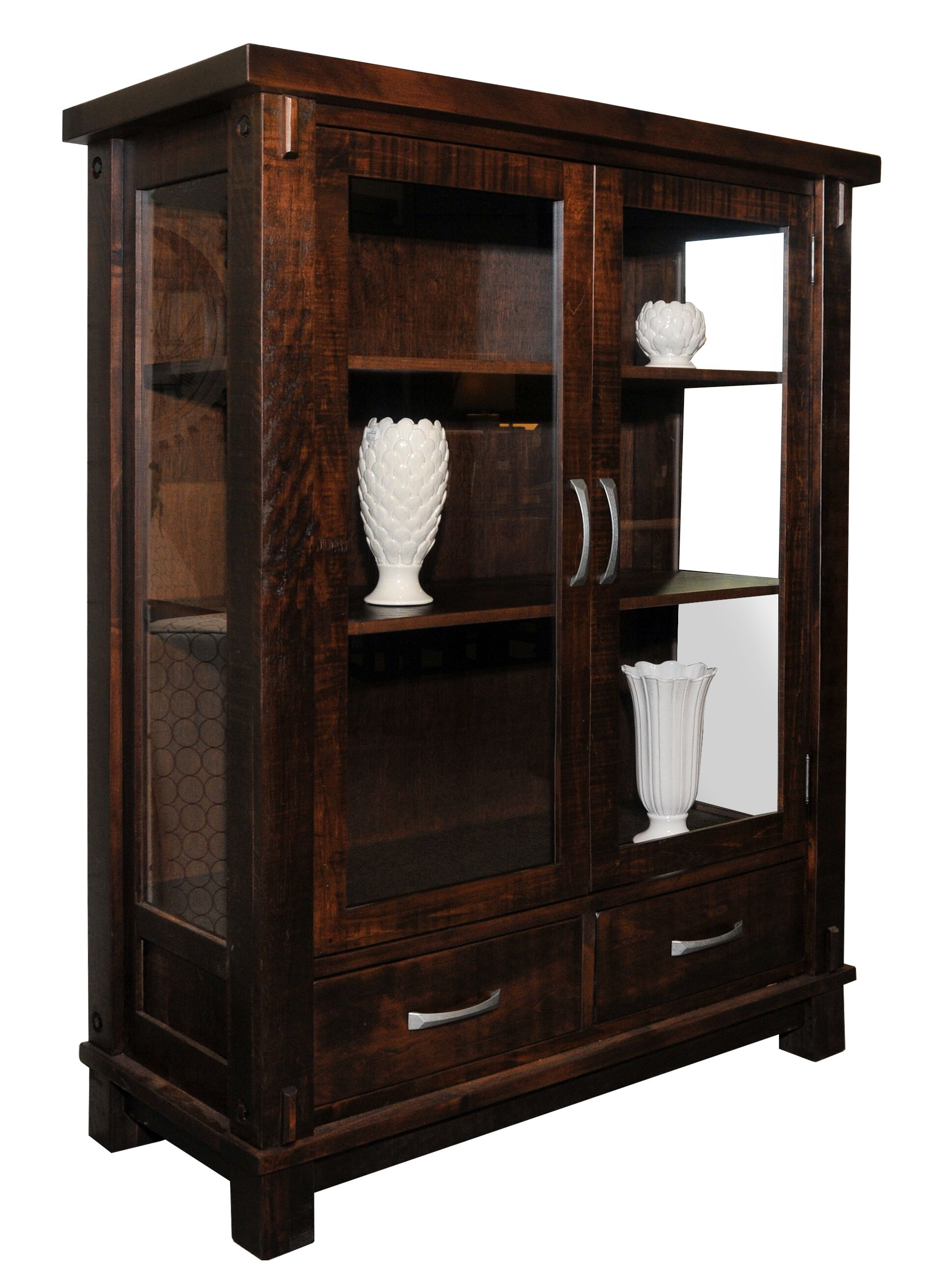 Timber  Showcase Cabinet