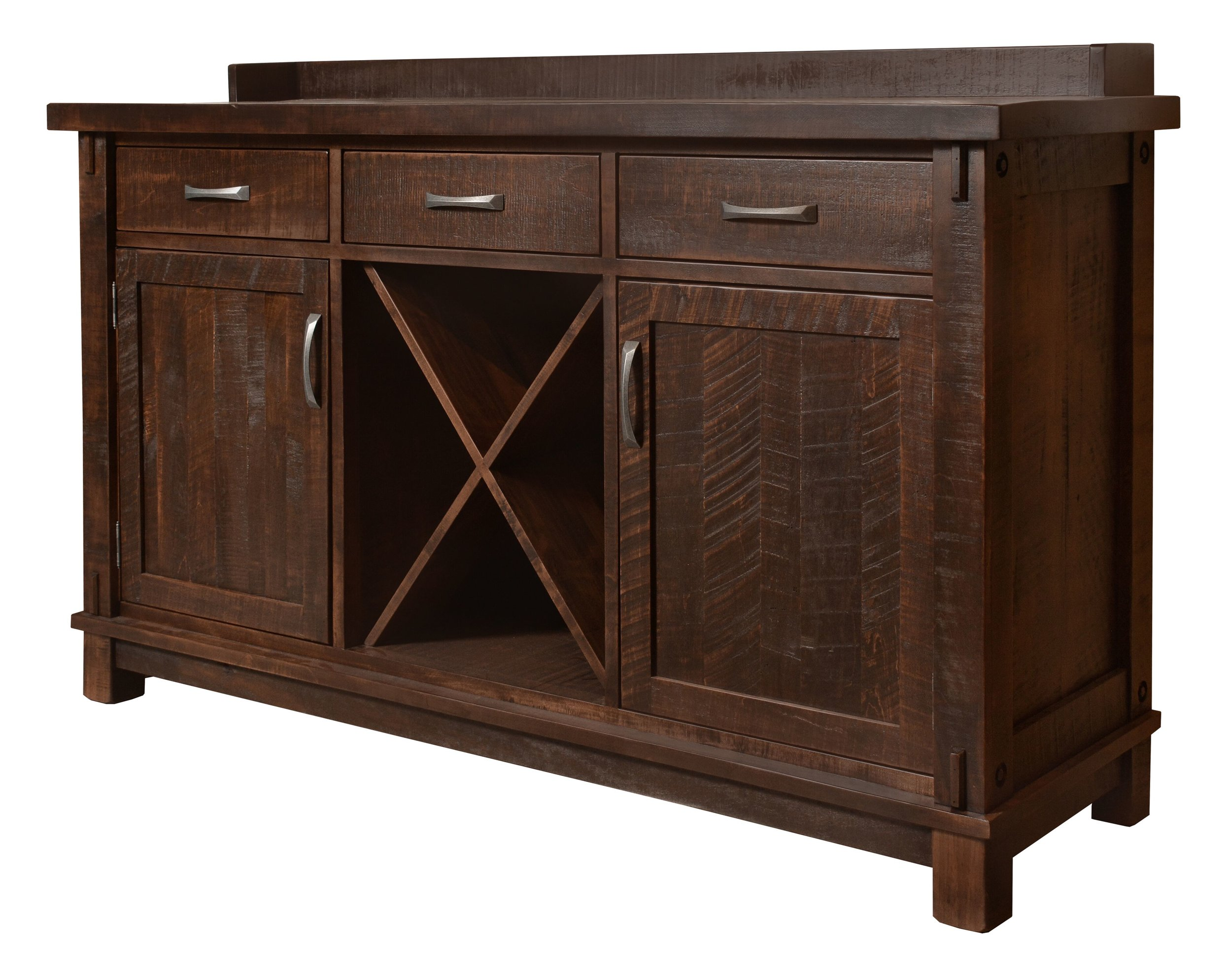 Timber Wine Server Sideboard