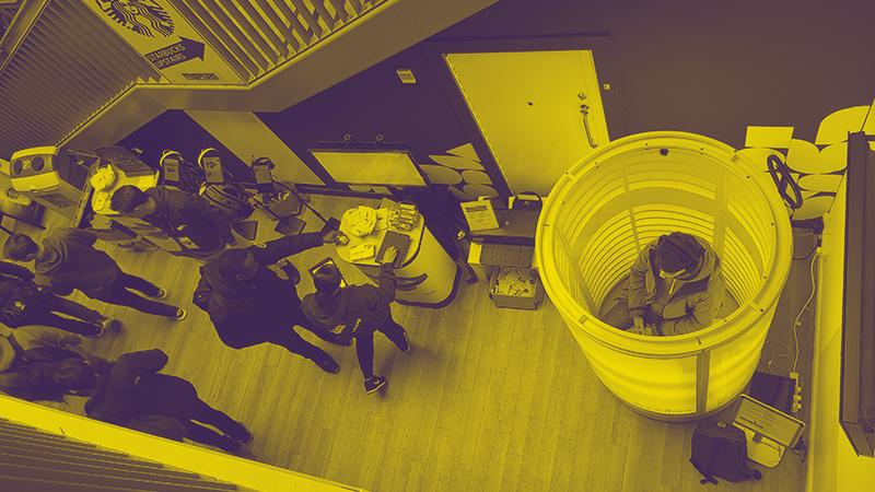 interactive campus event case study