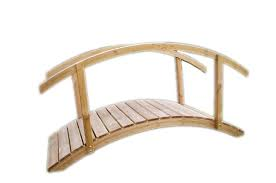 Carrickarede Bridge - Sturdy and attractive bridge that is perfect for landscaped gardens.. Comes Flat Packed & fully treated. We can also supply extra side rails & joists for support.W 2300mmD 970mm
