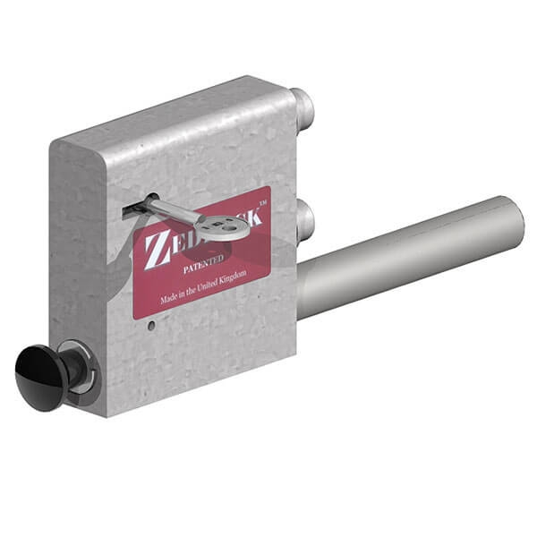 Zed Lock - You can now fit a keyed lock to your metal and timber field gates. The ZedLock adds extra security.