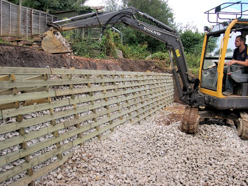 Caddis Ltd - Brothers Paul & Richard cover a huge variety of sectors, including Landscaping, domestic fencing, equestrian fencing, milling of timbers and land craft.