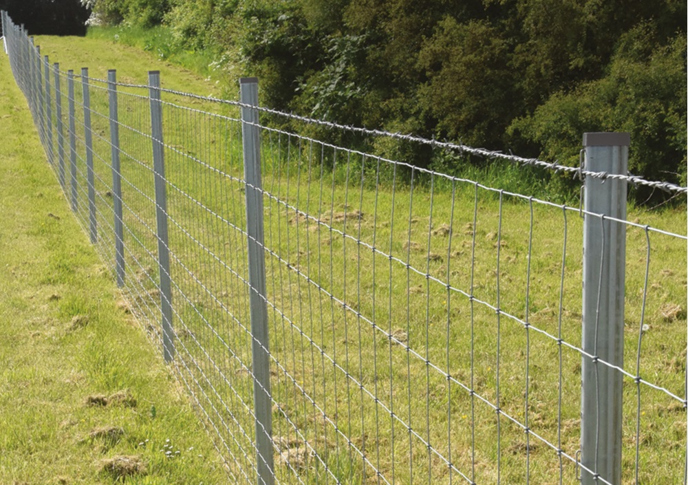 Versalok Metal Post System - Looking for a long life fence?