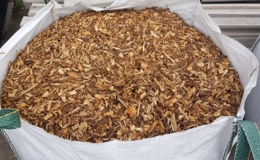 Bark Chip available to order in bulk bags.