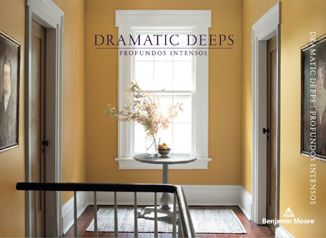 Dramatic Deeps - aA little drama never hurt anyone. Make a scene—and a space—with our late-night blues, scene-stealing greens, and stage-setting rubies. Sumptuous colours that create stand-out-from-the-crowd impression wherever they're used.