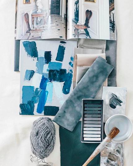 Benjamin_Moore_Interior Paint_Century_Blue_Palette