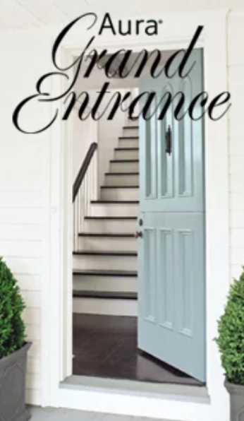 Aura Grand Entrance brings rich, vivid colour and exceptional durability to your interior/exterior doors and trim.