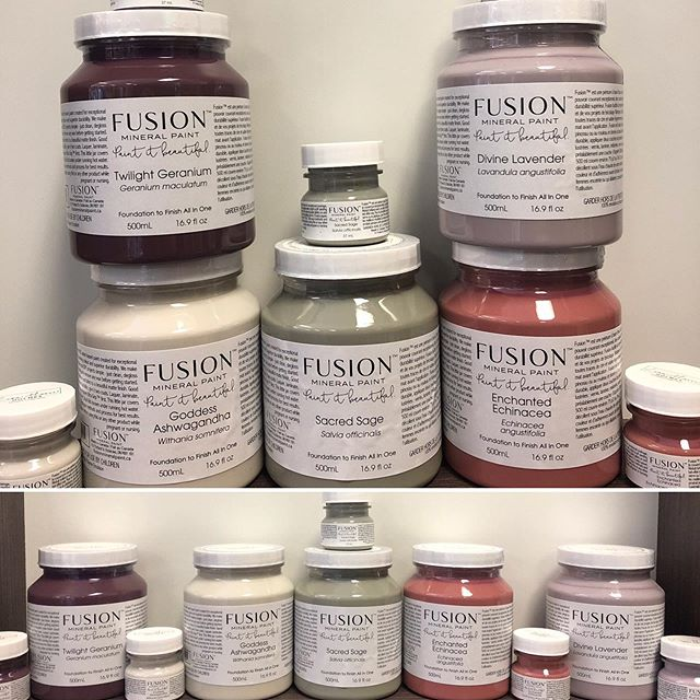 JUST ARRIVED!!! New @fusionmineralpaint colour collection by @lisa.marie.holmes !!!! #fusionmineralpaint #partnerspaintandpaper #partnerspaint #newcolours