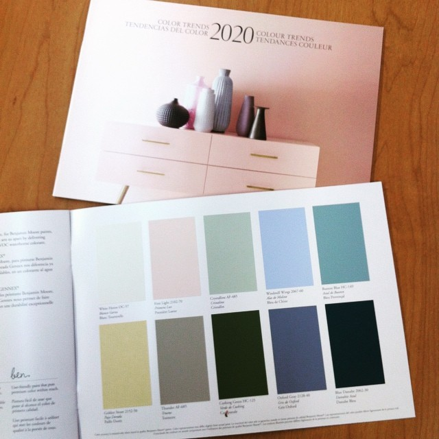 Stop in a Partners Paint and Paper location nearest you and pick up the Brand new copy of the 2020 colour trends brochure!!! #PartnersPaint #exeterontario #stratfordontario  #stmarysontario #clintonontario #colortrends2020 #benjaminmoore