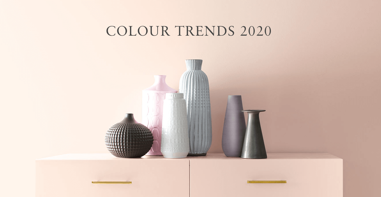 2020 Colour of the Year - The ten harmonious hues of the Colour Trends 2020 palette, including First Light, deliver modern paint colour pairings that combine optimism with understatement, a timeless way to lighten up.
