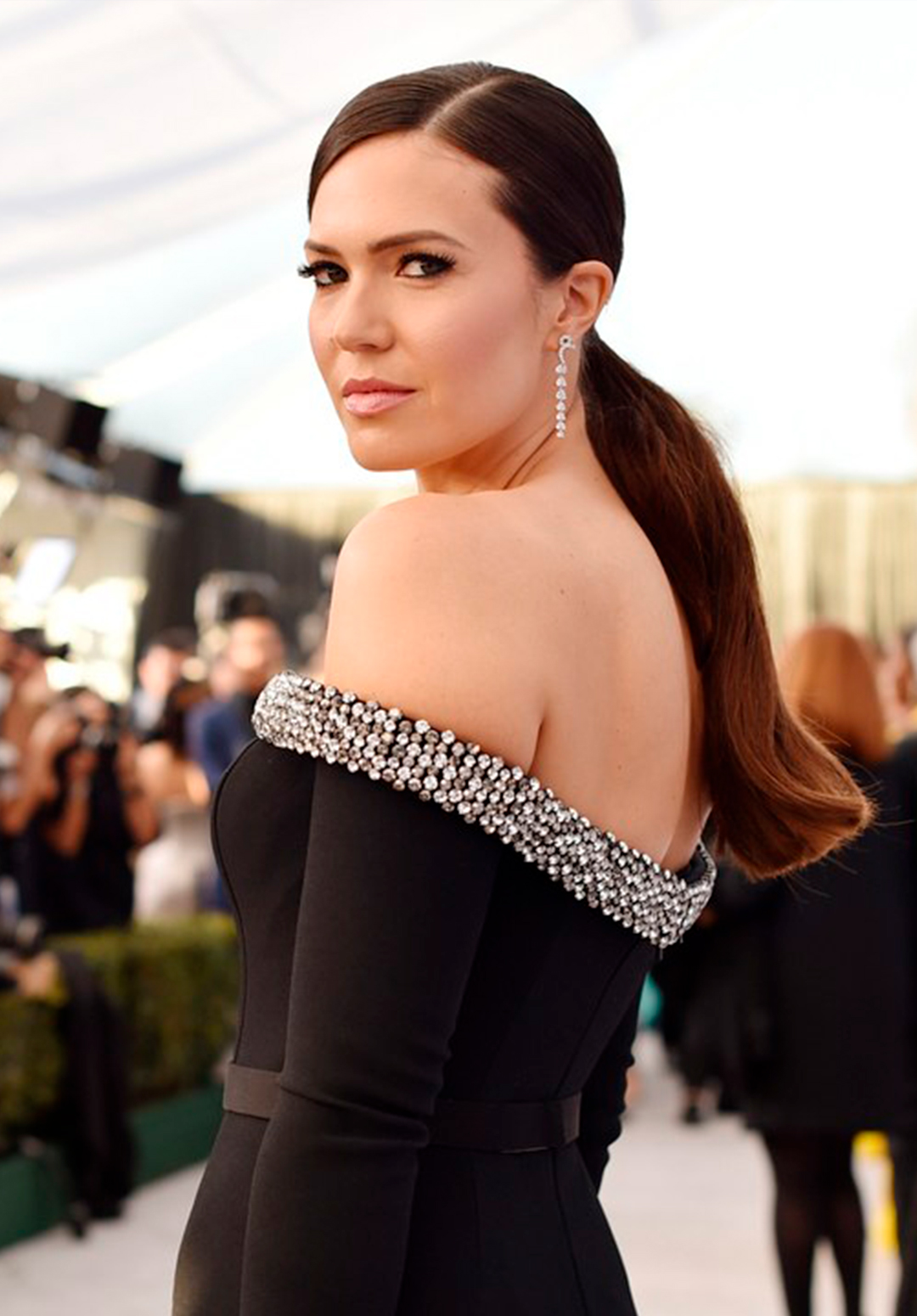 MANDY MOORE SAG AWARDS 2019 - FASHION WITH PURPOSE for UNICEF
