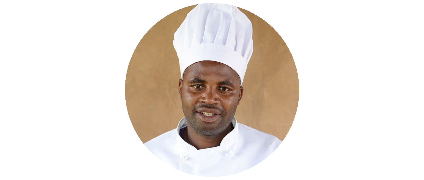 John Twebaze - Head Chef