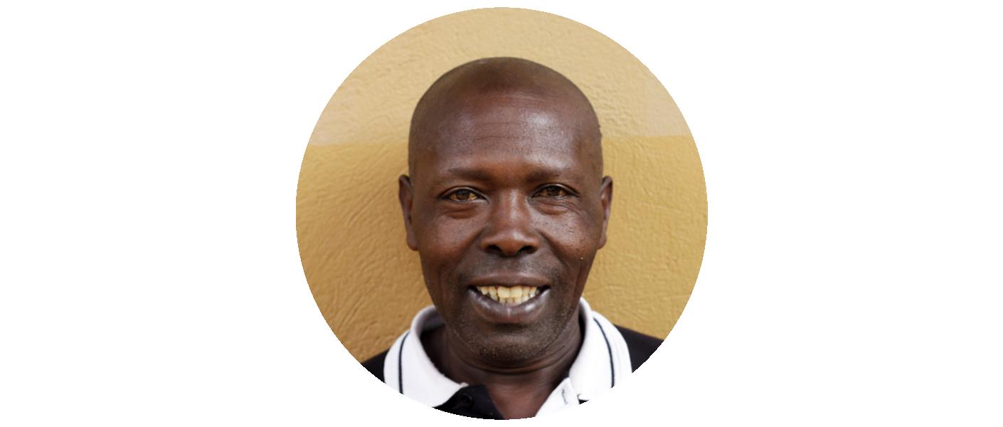 Godfrey Kamugisha - Groundskeeper