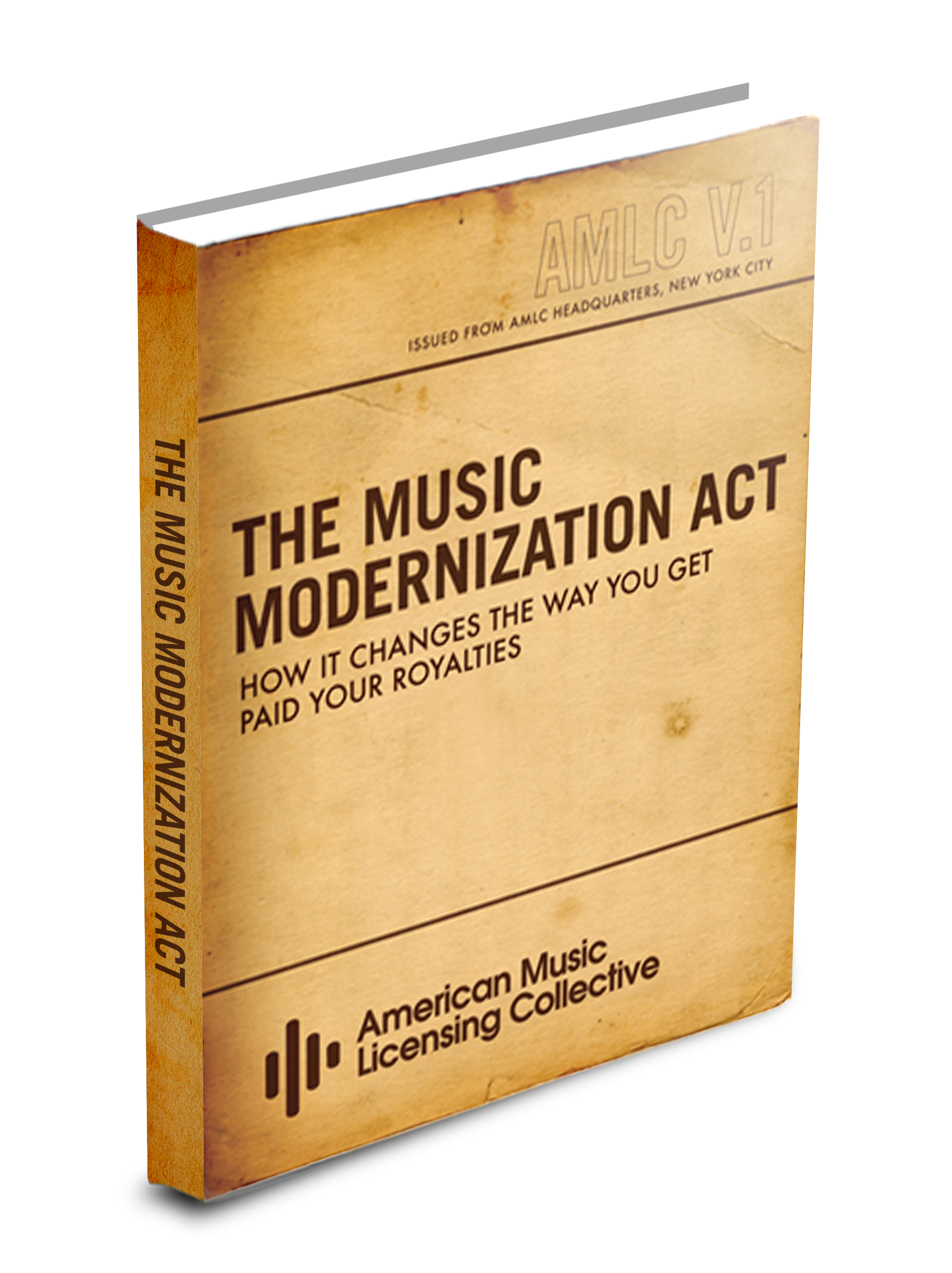 FREE EBOOK DOWNLOAD - Here is a free E-Book (PDF format) that tells you everything you need to know about the Music Modernization Act.