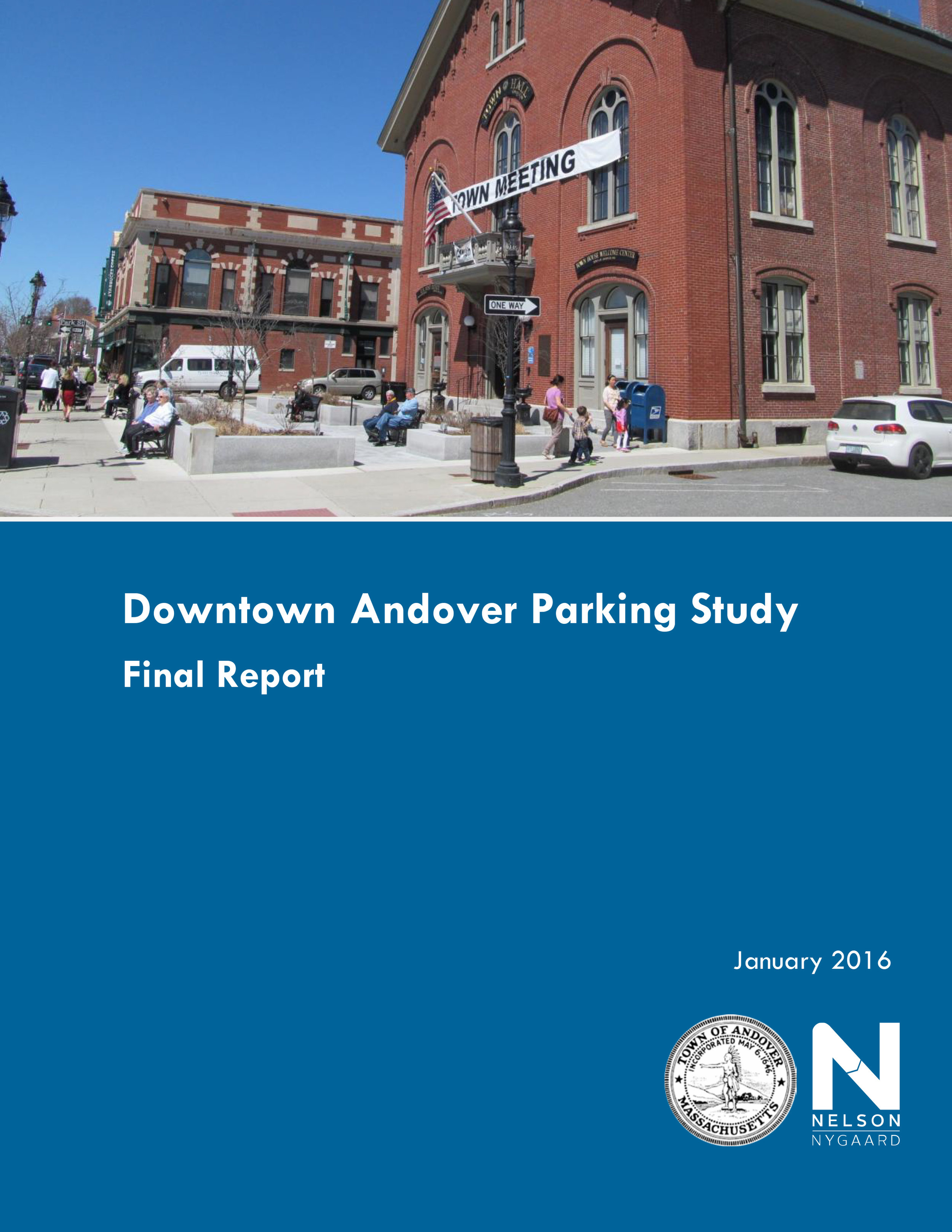 Downtown Parking Study, 2016