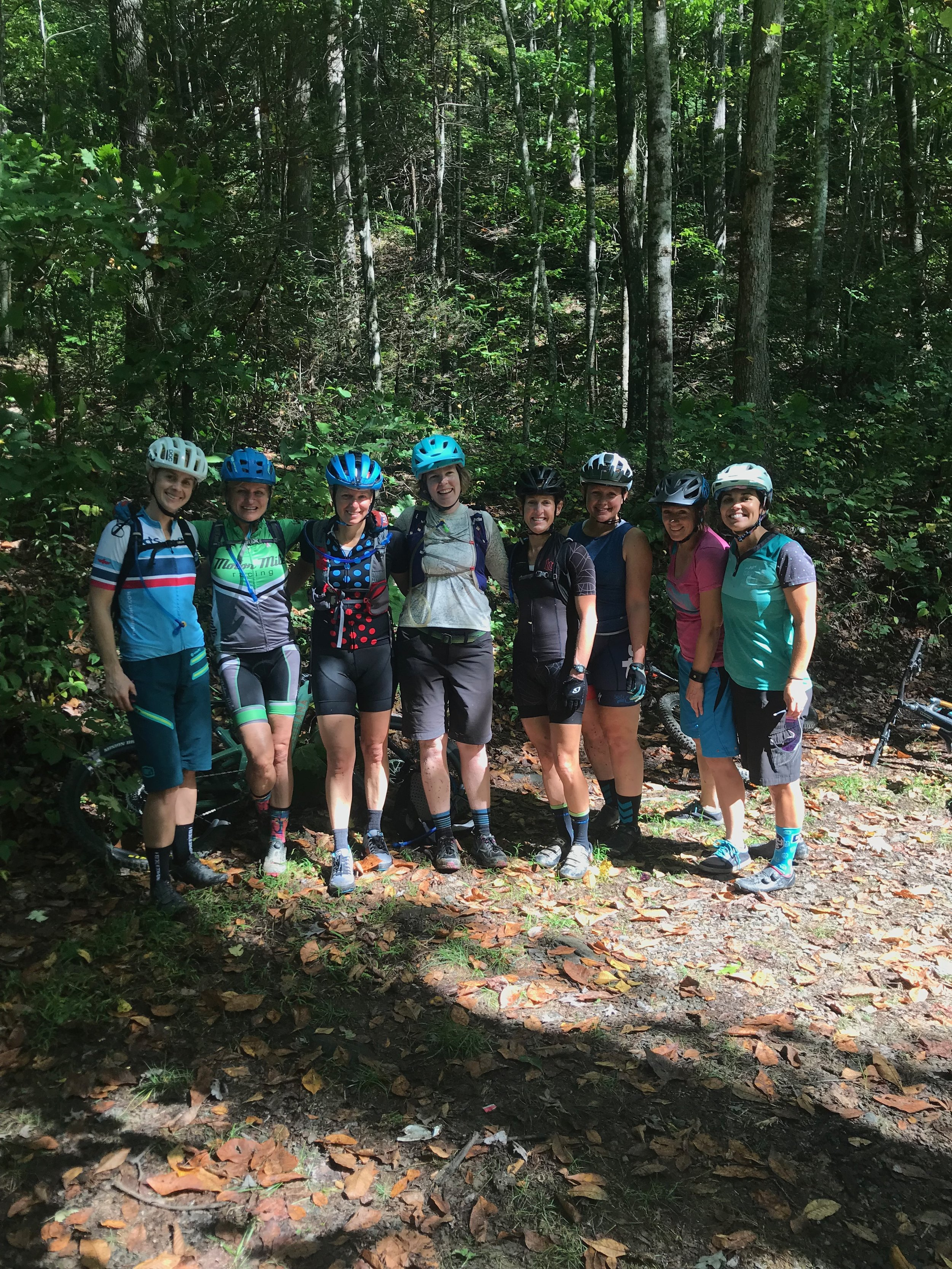 Elevated Ride Camp was worth every penny in Brevard NC. I have been to about 3 mountain bike clinics but Elevated Rides was true in being intermediate/advanced. Left camp with more confidence in riding technical trails. Great coaches and the food was fantastic! — Star, Chattanooga, Tennessee