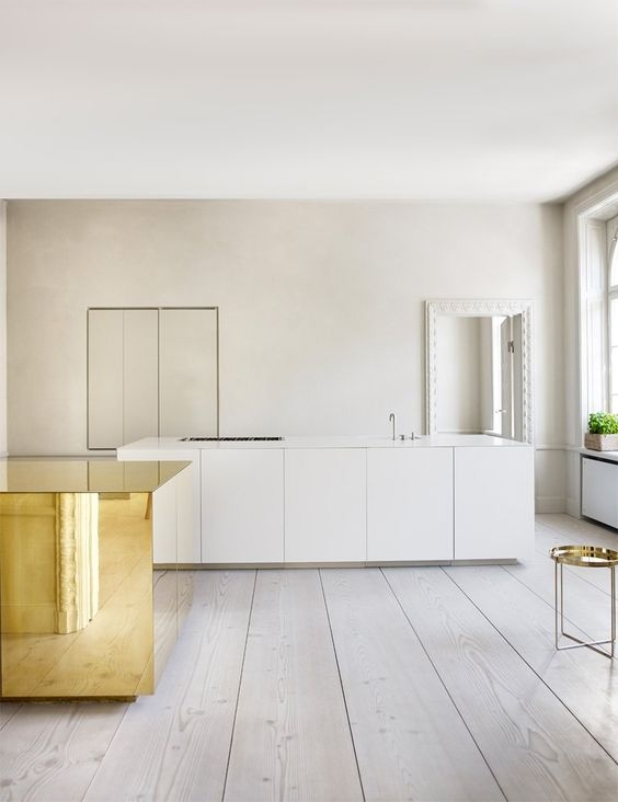 Apartment with Brass Cube | Claesson Koivisto Rune