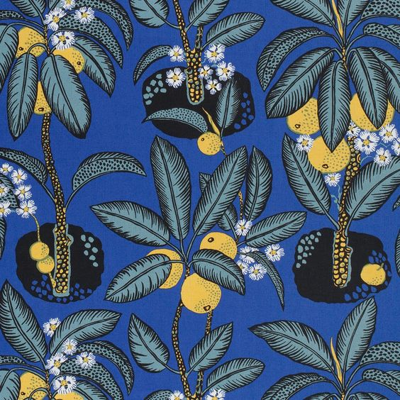 Josef Frank Textile Notturno | Svenskt Tenn