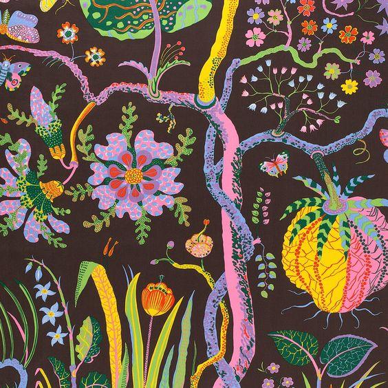 Josef Frank Textile Hawai | Svenskt Tenn