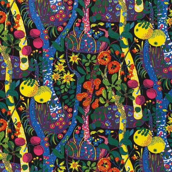 Josef Frank Textile Tre Öar i Svarta Havet | Svenskt Tenn