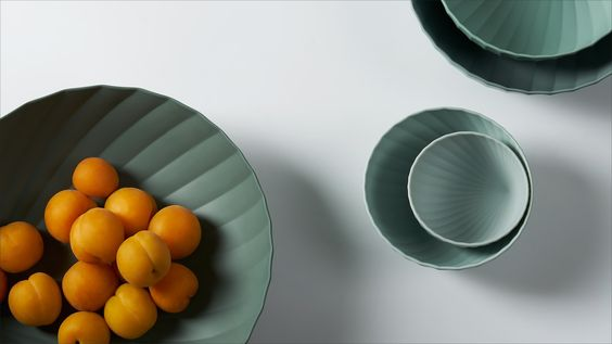 Camellia Bowl Set in melamine by Constance Guisset, Paris, France for ZaoZuo, China