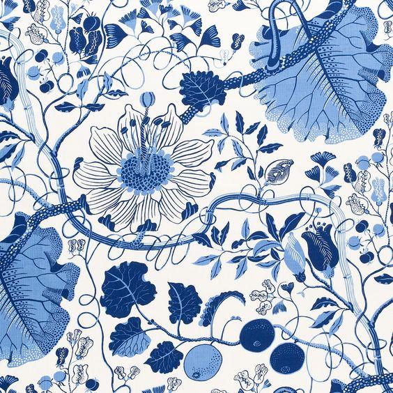 Josef Frank Textile La Plata | Svenskt Tenn