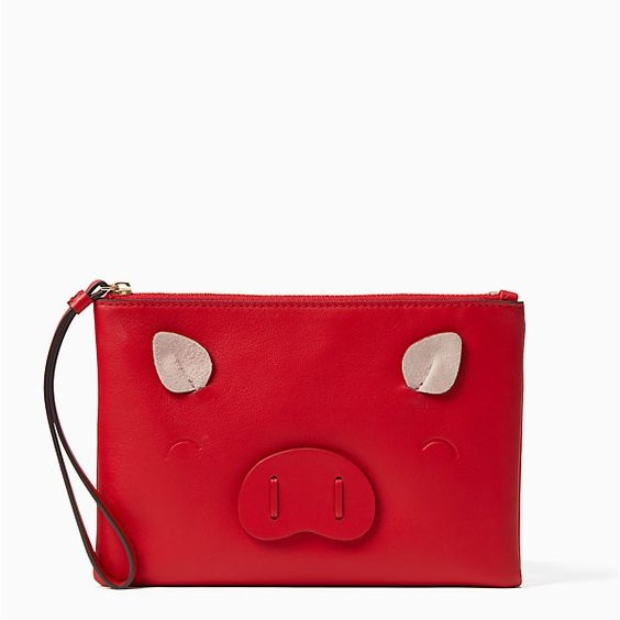 Year of the pig small wristlet | kate spade